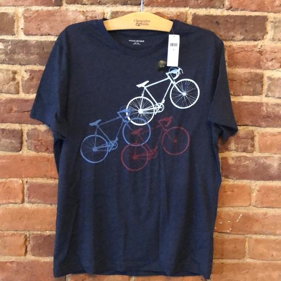 Banana Republic Bicycle Tee Shirt